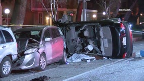 Speed possible cause of crash that killed driver, severely injured passenger in Granada Hills