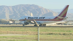 Passenger jet carrying U.S. citizens from Wuhan arrives at March Air Reserve Base