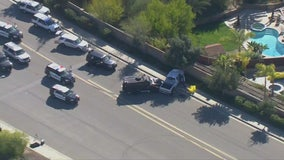 Suspect fatally shot by Riverside County deputies following pursuit that ended in Murrieta