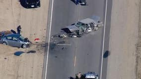 One killed, at least three critically injured in head-on collision in Palmdale