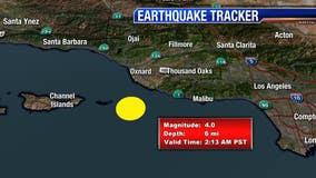 Preliminary 4.0-magnitude quake rattles SoCal