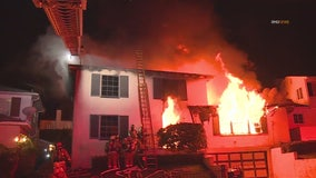 Fire tears through View Park area home