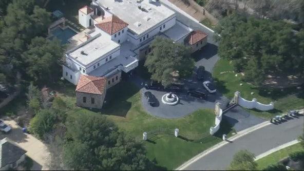 Rapper YG arrested at Chatsworth mansion