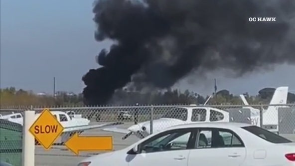 4 people killed after plane crashes at Corona Municipal Airport