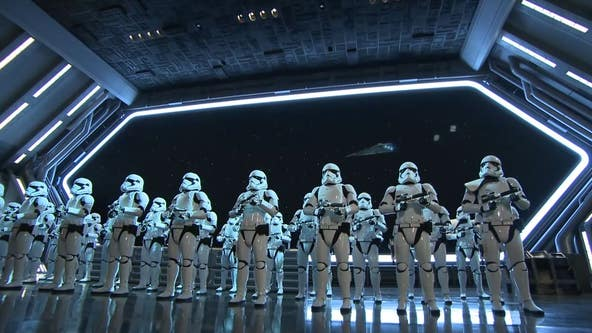 Disneyland debuts new Star Wars attraction