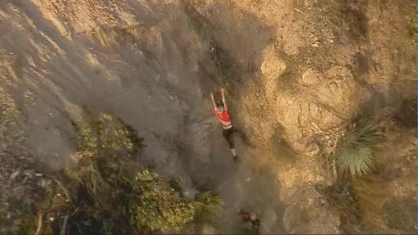 Hiker rescue in Rubio Canyon Falls