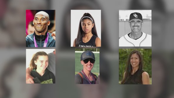 Federal officials investigate deadly helicopter crash that killed nine, including Kobe Bryant