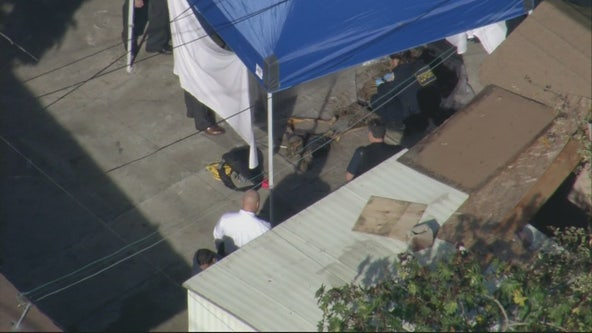 Investigation into human remains discovered behind home in South LA classified as homicide