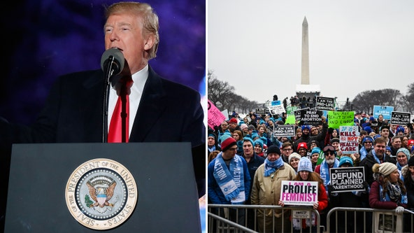 March for Life: President Trump becomes 1st sitting president to attend pro-life rally