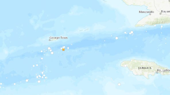 6.5 earthquake shakes Cayman Islands following powerful 7.7 temblor between Cuba, Jamaica