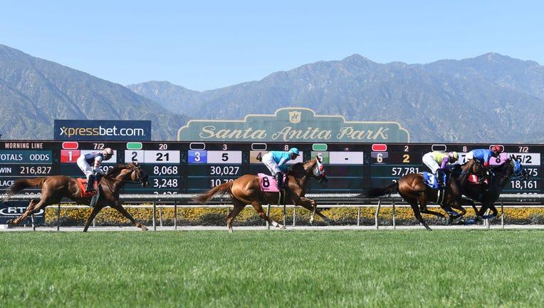 Third Horse Dies This Weekend At Santa Anita Park Fox 11