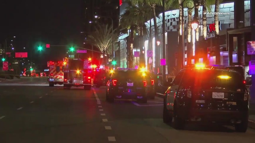 Man dies after being shot outside Century City mall