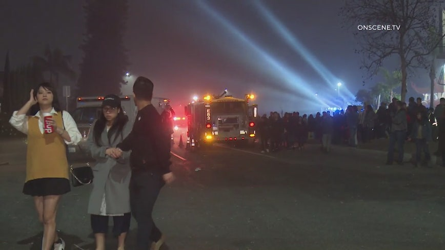 Fireworks accident injures 8 celebrating Lunar New Year in Santa Ana