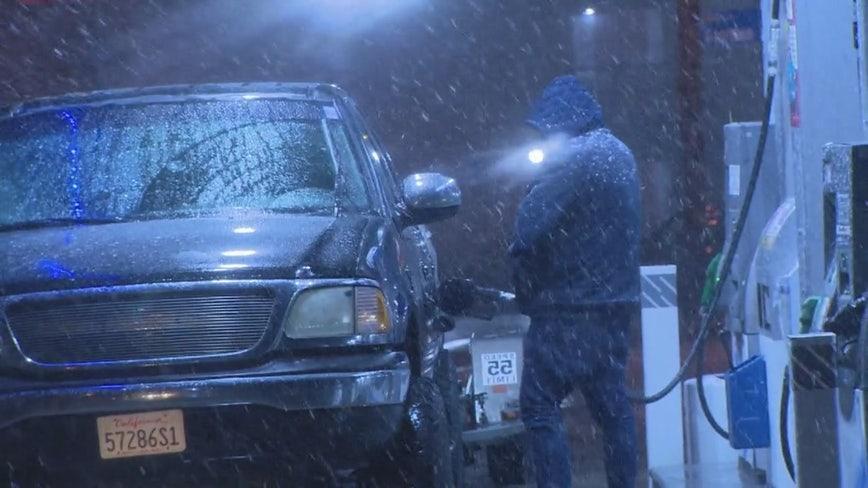 Snow could impact Grapevine, Gorman area