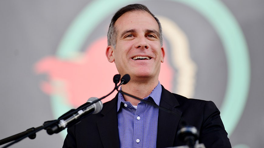 Garcetti says Los Angeles will partner with feds to address homelessness