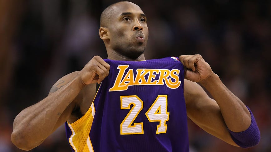 NBA players pay tribute to Kobe Bryant by voluntarily retiring his numbers