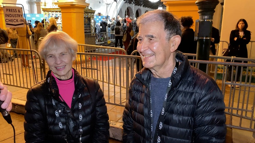 'I miss her when she's not here': After more than 58 years of marriage, inseparable couple becomes longest-serving volunteers at Santa Barbara Film Festival