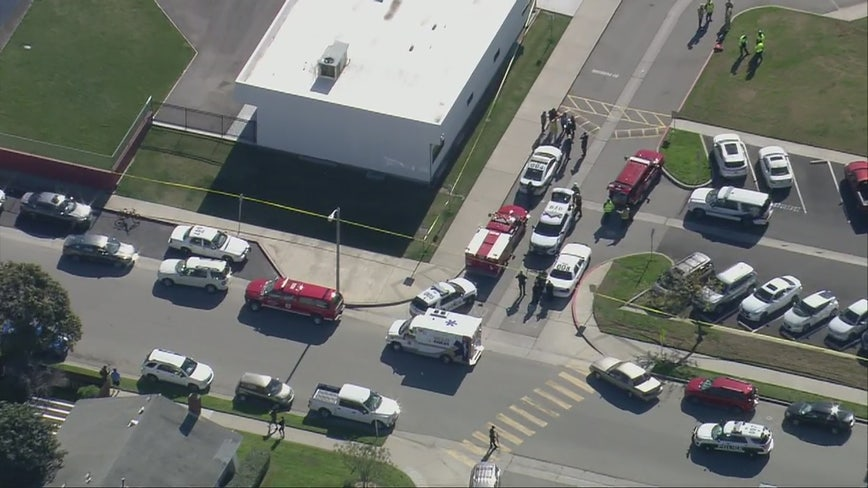 Police responding to reports of possible shooting victim at elementary school in Oxnard