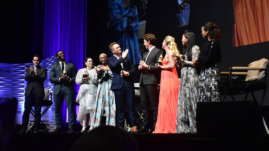 Cynthia Erivo, Taron Egerton, Aldis Hodge show off vocals at SBIFF Virtuosos Award