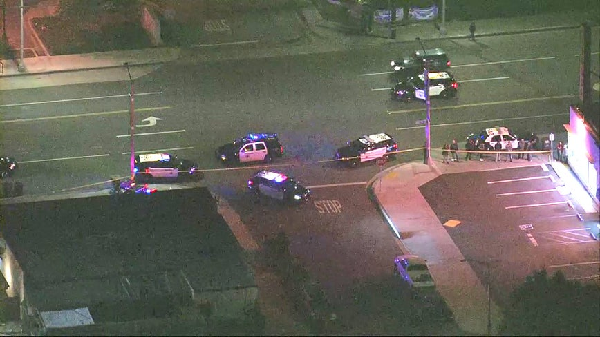 2 people in critical condition following shooting in Long Beach, suspect barricaded