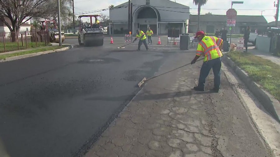 Compton residents glad to see change as city improves pothole problem
