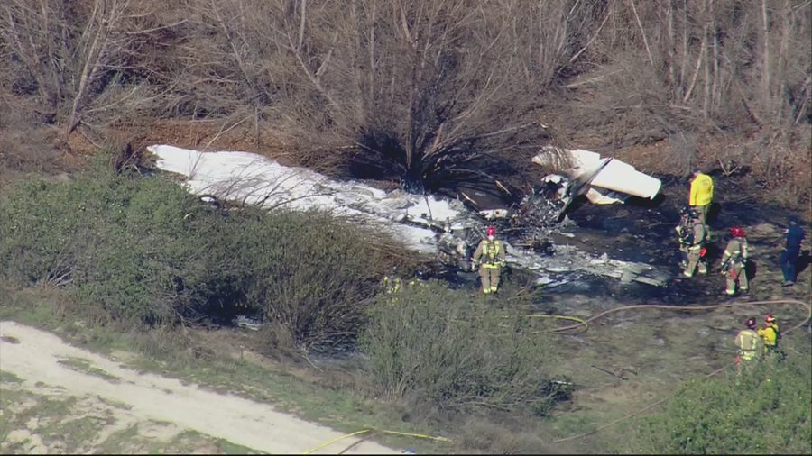 Victims in deadly Corona plane crash identified; All from LA County