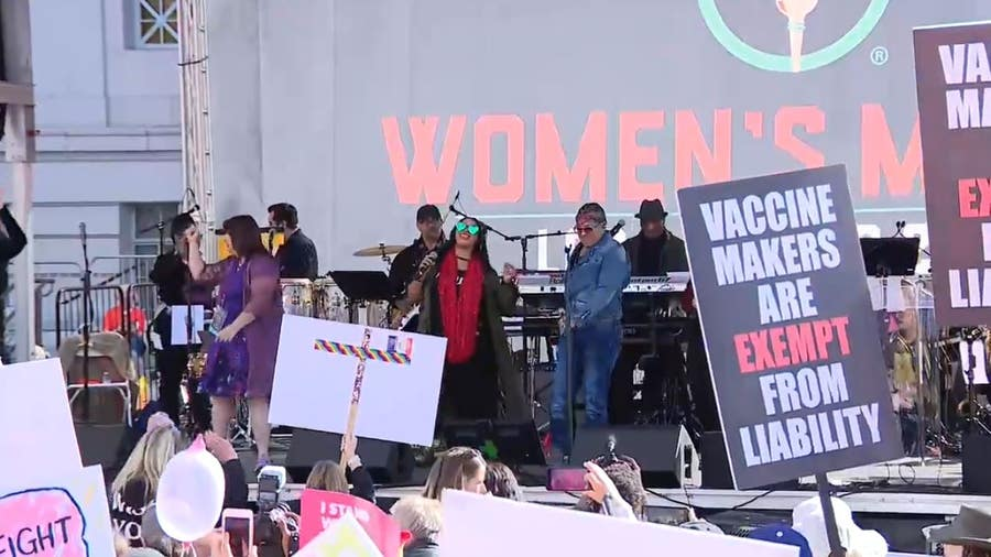 Thousands gather in Downtown LA for 4th annual Women's March