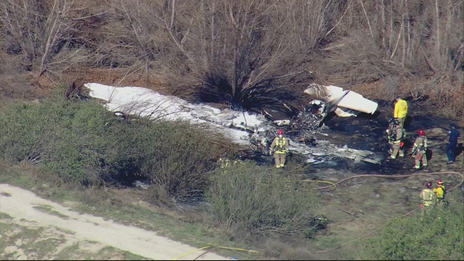 Four People Killed After Plane Crashes At Corona Municipal