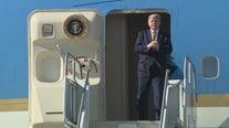 Trump makes rare visit to Los Angeles area