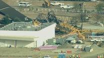 Crane collapses at SoFi Stadium in Inglewood