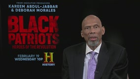 Kareem Abdul-Jabbar serves as executive producer in 'Black Patriots: Heroes of the Revolution'