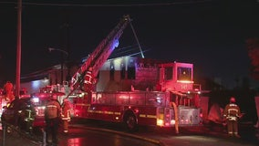 'Suspicious' two-alarm fire ignites at vacant commercial building in Cudahy