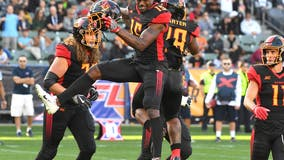 XFL's Wildcats rout DC for first victory