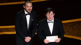 Actor Zack Gottsagen makes history as first Oscar presenter with Down syndrome