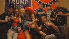 Photo circulates of Martin Luther King High School students posing with swastika, Confederate flag