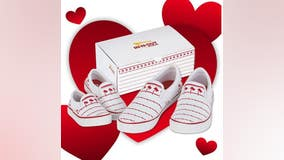 In-N-Out's newly released 'Drink Cup Shoes' featuring popular logo become instant hit