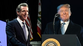 Gavin Newsom bashes Trump on 'The View,' claims president 'is scared of California'