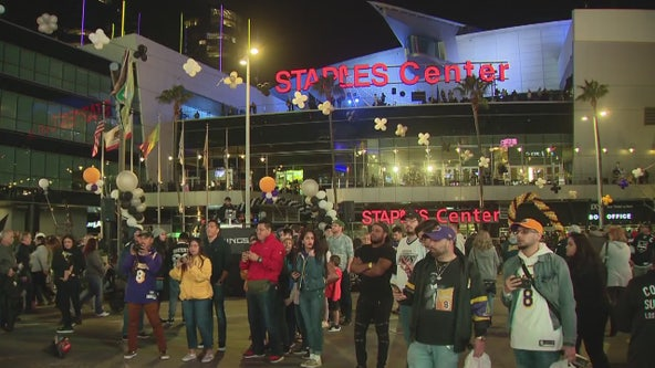 Preview of Monday's memorial for Kobe & Gianna at Staples Center