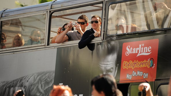 L.A. City Council approved crackdown on Hollywood tour bus routes