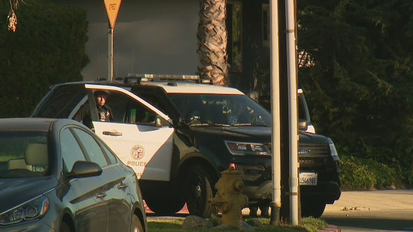 Domestic violence suspect surrenders following shelter in place at Granada Hills school