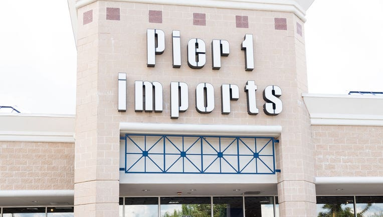 46effe0b-A Pier 1 Imports storefront is shown in a file photo. (Photo by Michael Brochstein/SOPA Images/LightRocket via Getty Images)