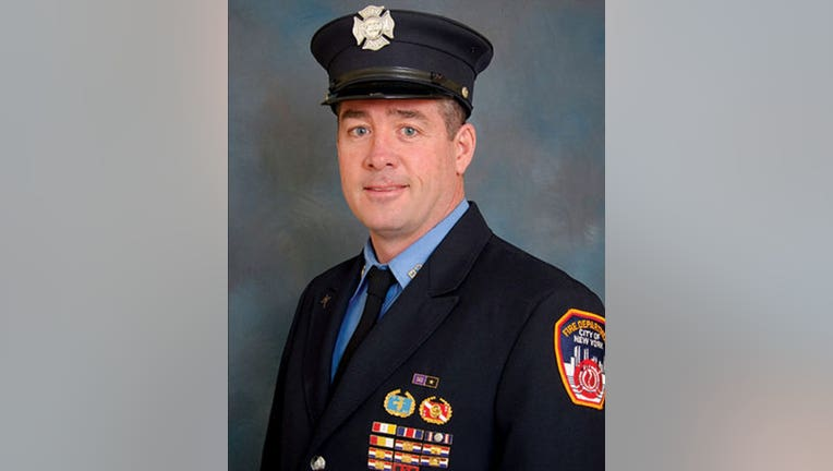 Firefighter Daniel R. Foley
