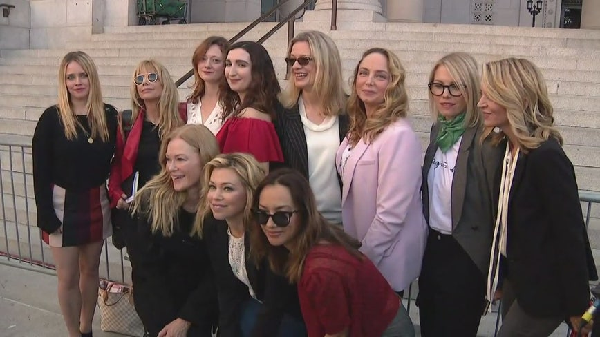 L.A. Harvey Weinstein accusers speak about New York convictions, next legal battles