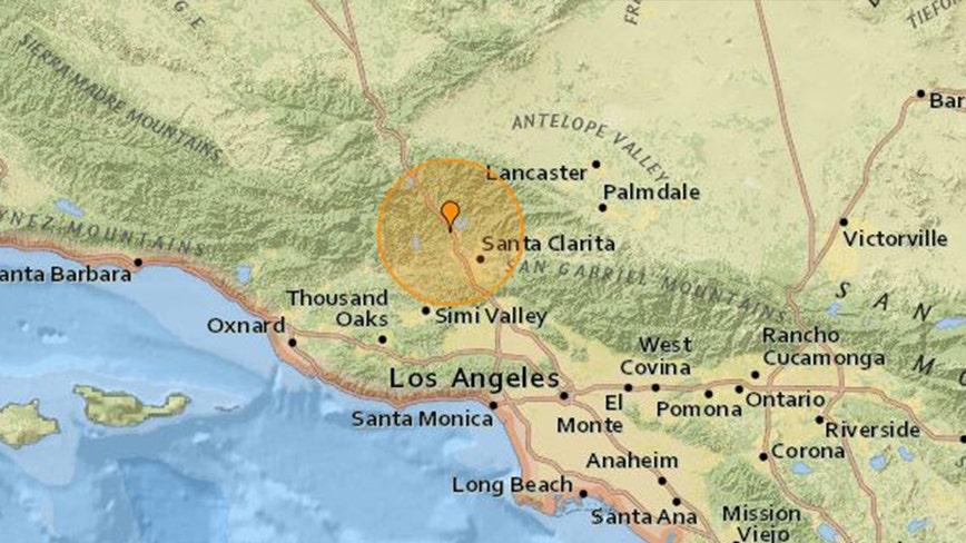 3.5-magnitude earthquake strikes near Castaic