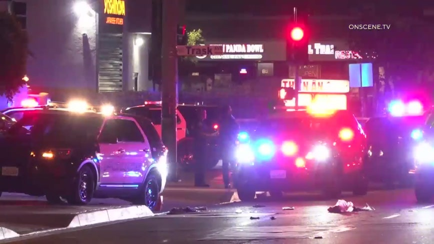 Suspect killed, officer hurt in officer-involved shooting in Garden Grove