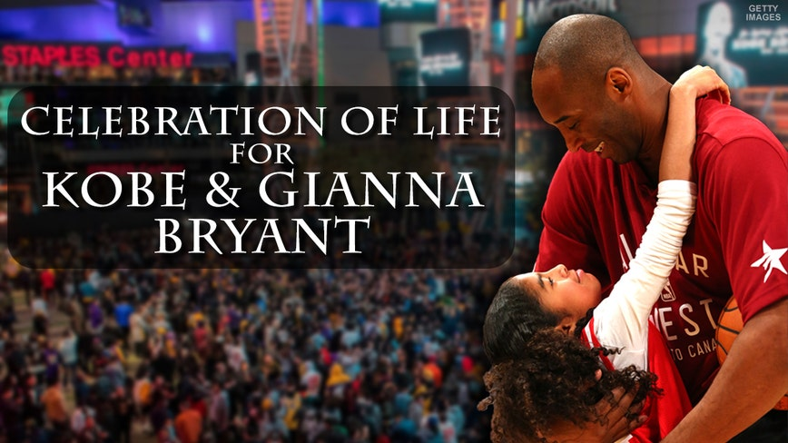 Ticketing sales open for the 'Celebration of Life for Kobe & Gianna Bryant'