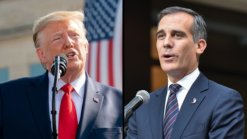 Trump takes aim at Garcetti saying he's 'urging' undocumented immigrants to 'beat the system'