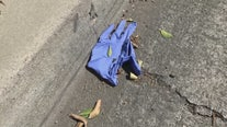 Lots of discarded rubber gloves & masks littered around SoCal