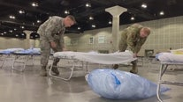 National Guard turning LA Convention Center into field hospital