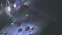 Wild chase ends with freeway takedown